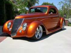 Steel Chip Foose Rod Available Now. Chip Foose, Rat Rods, Retro Cars, Vintage Cars, Vintage Travel, Muscle Cars, Classic Hot Rod, Ford Classic Cars, Hot Rod Trucks