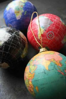 globe decorations