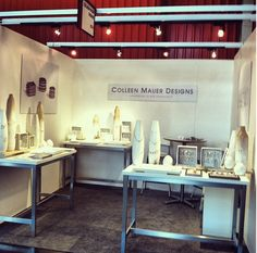 Colleen Mauer Designs trade show booth