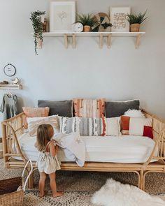 toddler girl's room | boho style