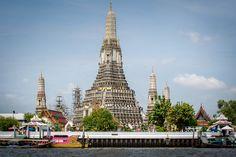 Wat Arun Bangkok on the Chao Phraya River
