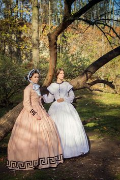 .:Domowa kostiumologia:.: parkowe przedpołudnie w krynolinie / lovely morning in my crinoline dress