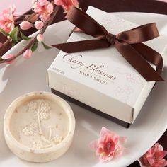 Cherry Blossom Soap Favor by Beau-coup