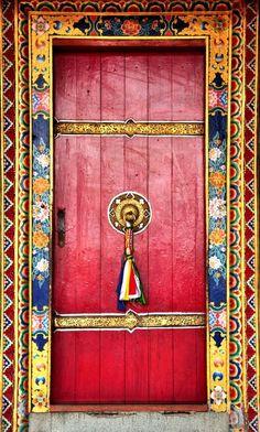 Tibet door, google search