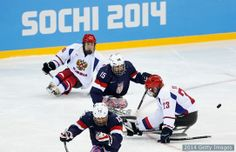 Gallery: Day 4 sled hockey