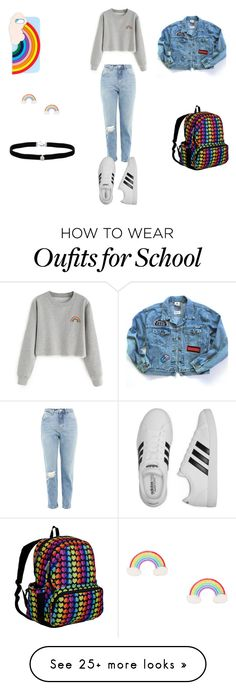 """""""I am a boring being"""" by withered-faces on Polyvore featuring Topshop, adidas, Miss Selfridge, Wildkin and Amanda Rose Collection"""