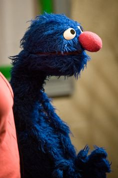 It is a dream of mine to meet Grover and be in a Sesame Street skit with him (and also get a grover hug OMG)