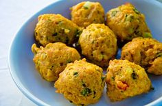 Cape Malay dhaltjies (chilli bites) recipe - Getaway Magazine - Curious Cuisiniere - Cape Malay dhaltjies (chilli bites) recipe - Getaway Magazine How to make delicious Cape Malay dhaltjies - deep-fried savoury snacks. South African Dishes, South African Recipes, Indian Food Recipes, Indonesian Recipes, Samosas, Kos, Malay Food, Curry Dishes, Malaysian Food