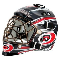 Franklin NHL Carolina Hurricanes Mini Goalie Mask