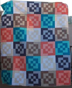 modified bento box quilt | Flickr - Photo Sharing!