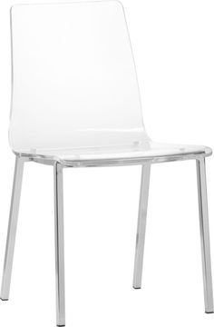 cool dining chair but looks very uncomfortable - vapor chair in dining chairs, barstools | CB2