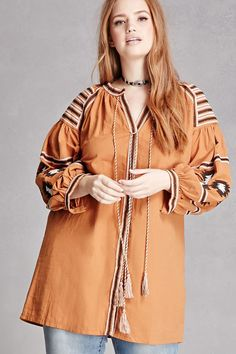 Forever 21 is the authority on fashion & the go-to retailer for the latest trends, styles & the hottest deals. Shop dresses, tops, tees, leggings & more! Embroidered Tunic, Big Fashion, Plus Size Women, Latest Trends, Raincoat, Forever 21, Curvy, Kimono Top, Leggings