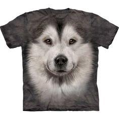 The Mountain Dog T-shirt | Alaskan Malamute Face