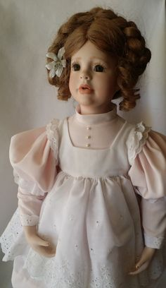 """Onali ~ Haunted Victorian Large Porcelain Doll 24"""" Amazingly Beautiful ~ Paranormal Doll Active Spirit Ghost Doll by FugitiveKatCreations on Etsy"""