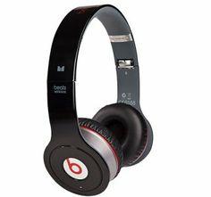 Monster Beats By Dre Wireless Bluetooth Black Headphones