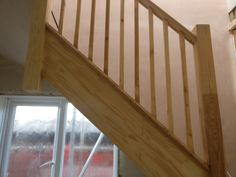 Loft stairs fitted with balustrades Loft Conversion Extension, Loft Conversions, Velfac Windows, Types Of Cladding, Porch Extension, Loft Stairs, Local Companies, Planning Permission, Flat Roof