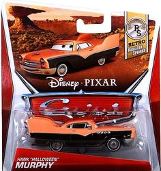 """Disney / Pixar CARS Movie 1:55 Die Cast Car Hank """"Halloween"""" Murphy [Retro Radiator Springs 2/8] by Mattel Toys. $11.05. All your favorite characters from the Disney Pixar film, CARS 2, in 1:55th scale. With authentic styling and details, these die cast characters are perfect for recreating all the great scenes from the movie. Collect them all!"""