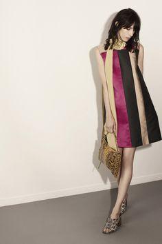 Lanvin | Resort 2015 Collection | Style.com ... color-blocked silk shift dress