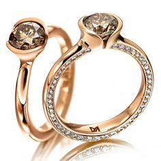 MEISTER Rings 302 - Womens-Collection redgold   MEISTER