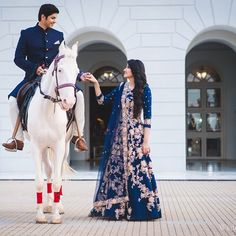 Ideas bridal lehenga pakistani blue for 2019 Wedding Reception Outfit, Pre Wedding Photoshoot, Indian Reception Outfit, Photoshoot Ideas, Indian Wedding Couple Photography, Wedding Photography Poses, Moda India, Pakistani Bridal Dresses, Bridal Lehenga