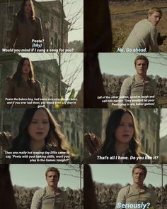 """79 Likes, 11 Comments - 💕Little Duck💕 (@thedollwiththebread) on Instagram: """"Super funny!1!1!1!1!1!1 This is worse then the last one😂 Q-Peeta or Josh? A- Peeta😍almost nobody…"""""""