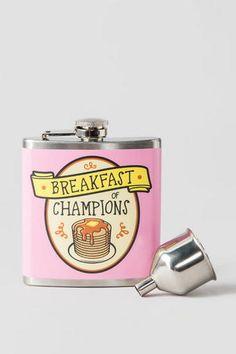 Breakfast of Champions Flask