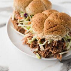 Paula Deen's Favorite Pulled Pork Sandwich
