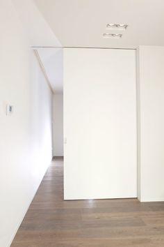 Secret Room Doors, Secret Rooms, Minimalist Interior, Modern Interior, Cavity Sliding Doors, Casa Milano, Townhouse Interior, Minimal Home, Pocket Doors
