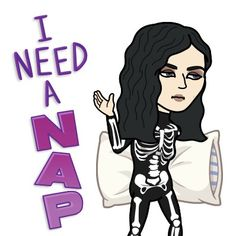 """Go download awesome app call """"Bitmoji"""" Now! You can create your look with spooky outfits on social media Today"""