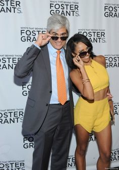 Kat Graham and Foster Grant CEO Cesar Melo celebrate 85 years!- Foster Grant Sunglasses - #fostergrant85