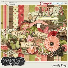 Lovely Day by Ooh La La Scraps at GingerScraps.net. Date of Purchase: 4/20/2015