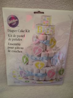 Diaper Cake Decorating Kit : 1000+ images about Baby shower Favor on Pinterest ...