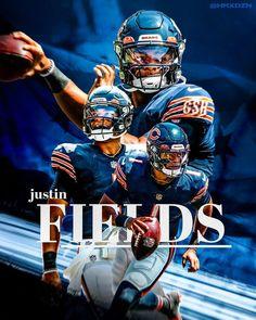 American Football, Nfl Football, Football Helmets, Chicago Bears Pictures, Nfl Bears, Justin Fields, Professional Football, Nfl Jerseys, Jersey Shirt