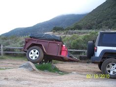 High Clearance Offroad Trailer - : and Off-Road Forum Camp Kitchen Box, Gallon Water Jug, What Are You Like, 4 Person Tent, Off Road Trailer, Killer Abs, Industrial, Expedition Vehicle, Gas Station