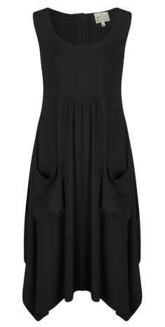 Shop the Masai Clothing Orinda Wide Bottom Dress in Black online at Gemini Woman. Receive FREE UK delivery when you spend over £95!
