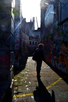 Gent, graffiti alley