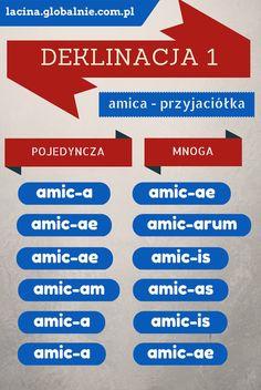 Łacina deklinacja I. Jak to odmieniać? - Łacina globalnie