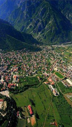 Konitsa in Epirus, Greece Places Around The World, Travel Around The World, Around The Worlds, Beautiful Islands, Beautiful Places, Albania, Places To Travel, Places To See, Myconos