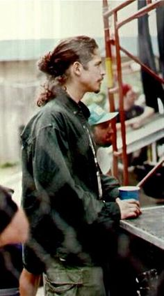 Sweet Chris Cornell <3 HE'S SO PRECIOUS.
