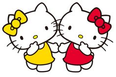 Mimmy & Hello Kitty - The White Sisters