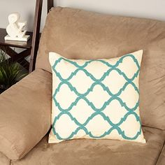 Shop for Moroccan Design Beaded Down Filled Throw Pillow. Free Shipping on orders over $45 at Overstock.com - Your Online Home Decor Outlet Store! Get 5% in rewards with Club O!