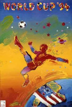 World Cup 1994 (U.S.) Poster |  one of the ugliest World Cup posters to date.