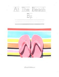 At the Beach Writing Activities - Pinned by @PediaStaff – Please Visit ht.ly/63sNtfor all our pediatric therapy pins