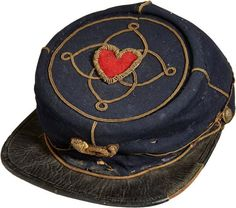 Union Officer infantry forage cap