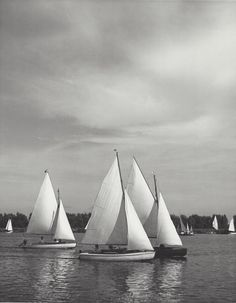 Kees Scherer    Sailingboats , Kaag Holland  1954-1959