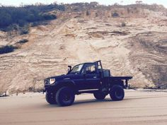Black beast. 75 series Landcruiser