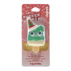 Christmas Elf Peppermint Flavoured Pucker Pops