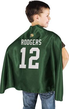 Aaron Rodgers Green Bay Packers Hero Cape