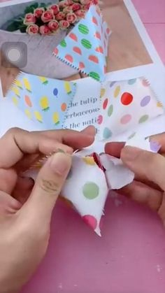 Cool Paper Crafts, Paper Crafts Origami, Fun Crafts, Crafts For Kids, Diy Crafts Hacks, Diy Crafts For Gifts, Diy Gifts Out Of Paper, Handmade Crafts, Diy Gift Box