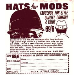 hats for mods